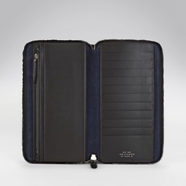 smythson - accordian wallet