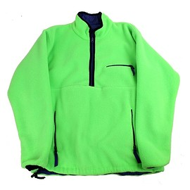 Patagonia - Reversible Glissade Pullover 1990 Neon Green