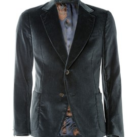 Gucci - Unstructured Velvet Blazer