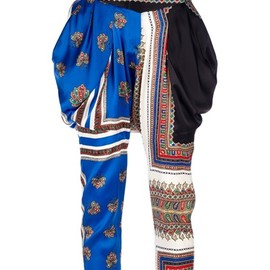 GIVENCHY - Givenchy - printed harem trouser