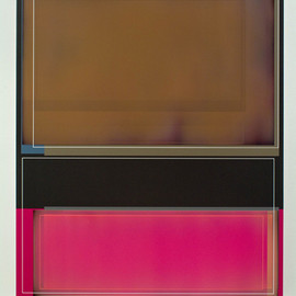Patrick Wilson - Brown Deluxe, 2008, acrylic on canvas