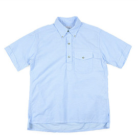 ENGINEERED GARMENTS - Popover BD Shirt-Lt.Weight Cotton Oxford-Lt.Blue