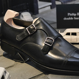 JOHN LOBB - PHILIP II, DOUBLE BUCKLE