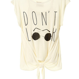 LagunaMoon - DONT LOOK Tシャツ
