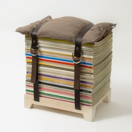 Njustudio - The Magazine Stool