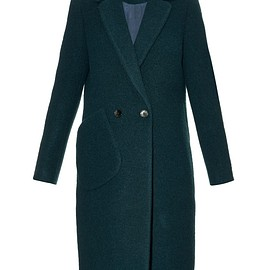 Carven - Notch-lapel boiled wool-blend coat