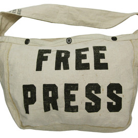 RRL - NEWSPAPER BAG