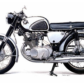 HONDA - DREAM CB72 SUPER SPORT