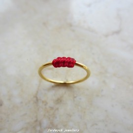 fordwych jewellery - 【LINGring】ルージュ