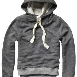 Scotch & Soda - 2IN1 O/LAPPING HOOD SWT TK