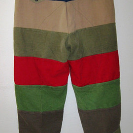 Abercrombie & Fitch - vintage patchwork safari pants
