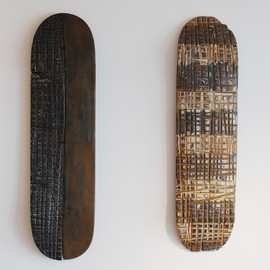 George Peterson - RECYCLE SKATE DECK