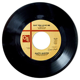 Patti Austin - Say You Love Me / In My Life (7inch)