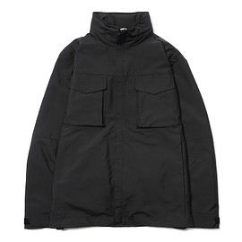 White Mountaineering - BLK WINDSTOPPER® Soft Shell Ester Taffeta Blouson