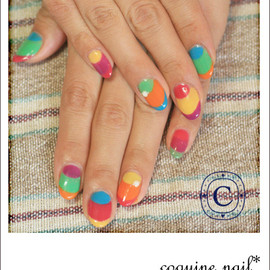 coquine nail - coulful