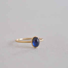 Pear Shape Faceted Labradorite Ring