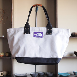 THE NORTH FACE PURPLE LABEL - Tote Bag #white×black