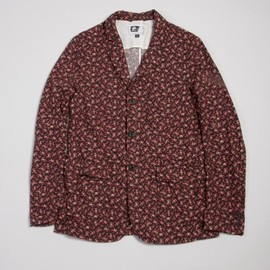 Engineered Garments - Baker Jacket,Brown Floral Print