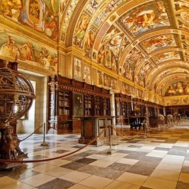 The Library of El Escorial, Spain - The Library of El Escorial, Spain