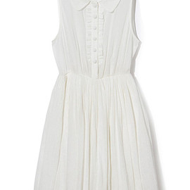 MAISON DE REEFUR - Cotton dress with frills