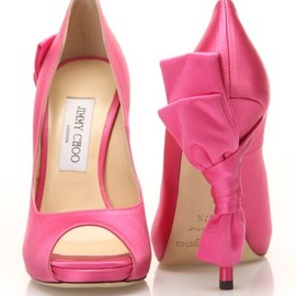 JIMMY CHOO - bow Shoes