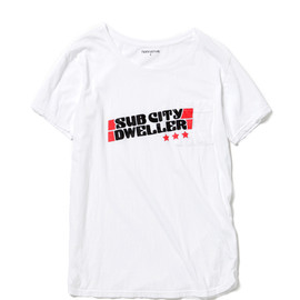 nonnative - SUB CITY DWELLER 3 STARS TEE