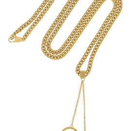 Chloe - Carly gold-tone necklace