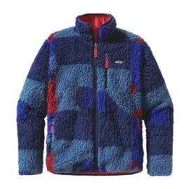 patagonia - Patagonia Men's Classic Retro-X Fleece Cardigan - Blocks: Glass Blue (BGSB)