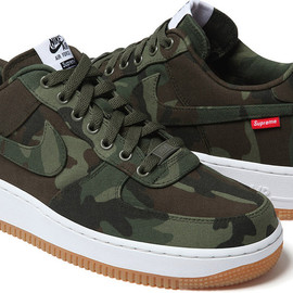 Supreme, Nike - Air Force 1 camouflage