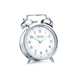 TIFFANY&Co. - EVERYDAY OBJECTS: Nickel Twin Bell Alarm Clock