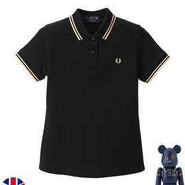 Fred Perry - Twin Tipped Shirt (Black)