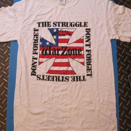 WAR ZONE - WAR ZONE Tシャツ DONT FORGET THE STRUGGLE...