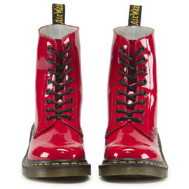 Dr.Martens - CLEMENCY 8EYE BOOT RED PATENT