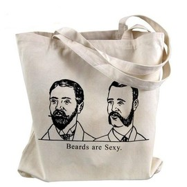 theboldbanana - Beards Are Sexy Tote Bag