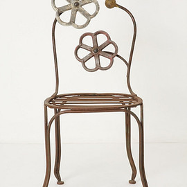 Anthropologie - Blacksmith Blossom Chair
