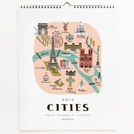 Rifle Paper co. - 2013 Cities Calendar