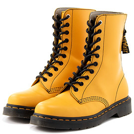 Y's, Dr.Martens - 10HOLE BOOT - YELLOW