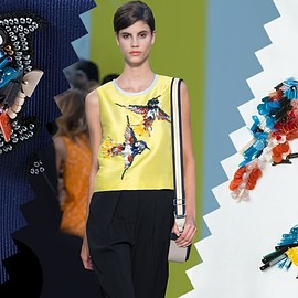 MSGM - MSGM bird embellished tank top