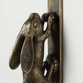 Anthropologie - Swinging Hare Door Knocker