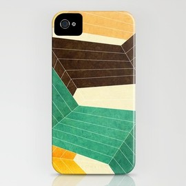 Society6 - Lines Inside iPhone Case