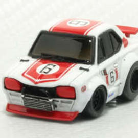 チョロQ - NISSAN Skyline GT-R Racer Hand Made Model Kit