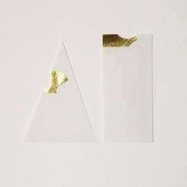 Furze Chan - The Golden Set / 15 Handmade Paper Envelopes