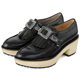 TOGA PULLA - Kilt Clogs (black)
