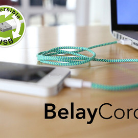 BelayCords - Reversible USB Charging Cords (iPhone & More)