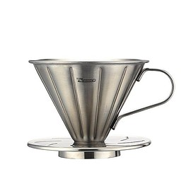 Cafe de Tiamo - V01 Stainless Steel Coffee Dripper