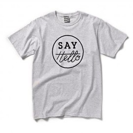 SAYHELLO - CIRCLE CI TEE