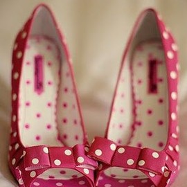 bow/pink heels♡