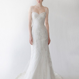 kelly faetanini - wedding dress