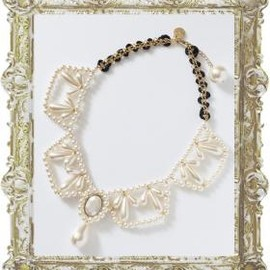 joujou - PEARL COLLAR NECKLACE