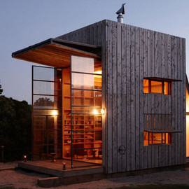 Whangapoua Sled House, New Zealand - Designed by Crosson Clarke Carnachan Architects
